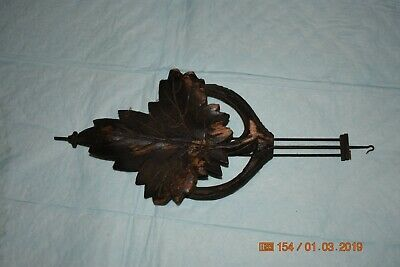 Antique cuckoo clock small pendulum for project