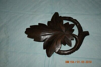 Antique cuckoo clock leaf pendulum ONLY for project