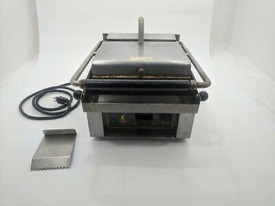 """Equipex Savoy 13"""" Sodir Countertop Commercial Electric Panini Press Grill Maker"""