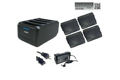 Symbol Battery Charger for TC70 TC75 TC77 SAC-TC7X-4BTYC1 (4) battery bundle