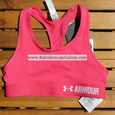 Under Armour Girls Small Sports Bras ~ Pink ~ Brand New W/ Tag