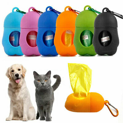 Dog Poo Pick Up Case Bags Pet Poop Waste Bag Garbage Dispenser