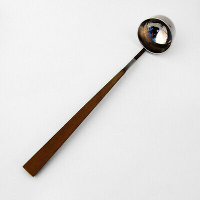 Swedish Punch Toddy Ladle Wooden Handle Giertta Sterling Silver 1985