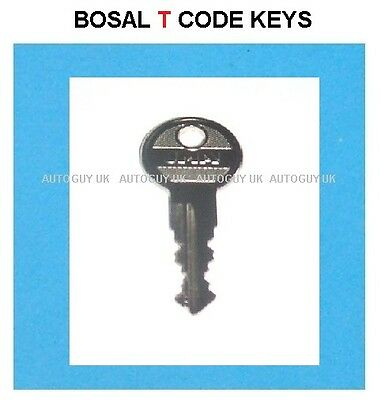 WESTFALIA DETACHABLE TOWBAR KEY for Five Digit Codes 21001 to 39950