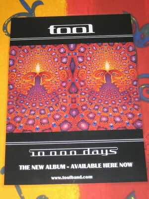 Tool - 10000 Days -  Laminated Promo Poster - NEW