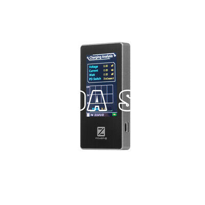 1PC ChargerLAB POWER-Z USB PD Tester MF001 MFi Tester Voltage Current Meter