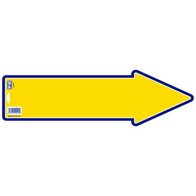 Hy-Ko English Sign Card Stock 17 In. H X 5 In. W (Pack Of 10)
