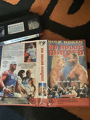No holds barred Vhs/ Original Wrestling/Hulk Hogan Applause/Roadshow Video