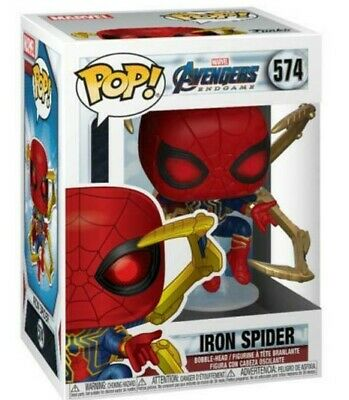 FUNKO Pop Marvel AVENGERS ENDGAME IRON SPIDER w/ Gauntlet 4in Vinyl IN STOCK