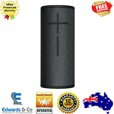 Megaboom 3 Ultimate Ears UE Portable Bluetooth Speaker Wonder Blast Night Black