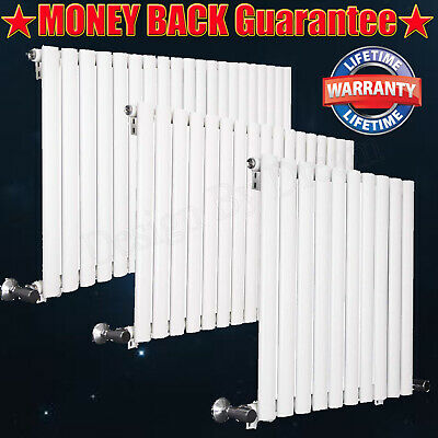 White Flat Panel Radiator Vertical Design Tall Upright Central Heating Radiators