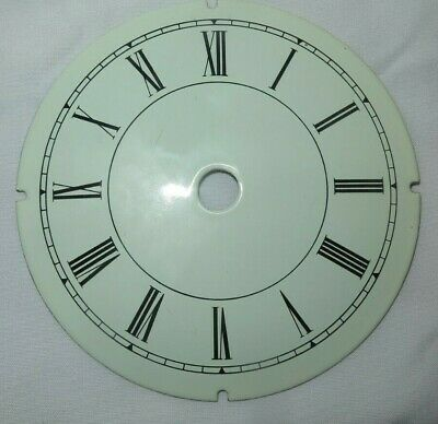 Clock face enamel