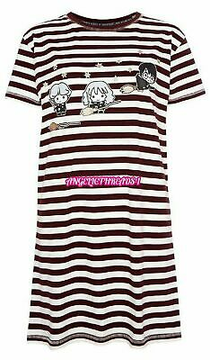 Primark Ladies Women Girls Harry Potter Nightie Nightdress Nightwear Tshirt NEW