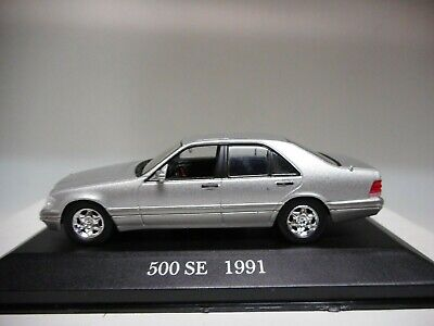 MERCEDES-BENZ 500 SE 1991 W126 COLLECT MERCEDES DeAGOSTINI IXO 1:43