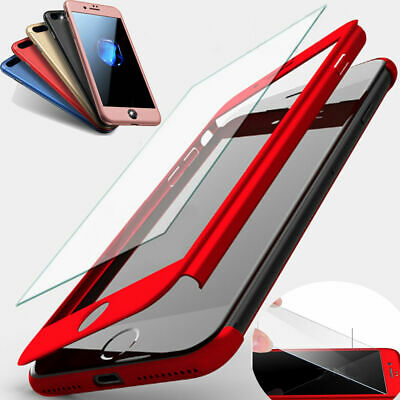 360° Full Protective Ultra-Thin Case Cover For iPhone 11 Pro XS Max XR 8 7 Plus