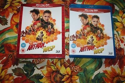 Antman And The Wasp - Disney -  Bluray - Original Case & Slipcover Watched Once