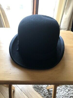 Antique Mens Bowler Hat Woodrow Burlington Good Condition  Size 6 & 3/4.
