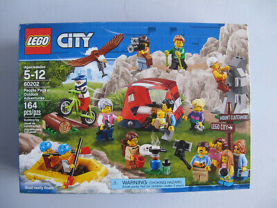 Factory Sealed! 164 Pieces LEGO 60202 Outdoors Adventures City People Pack