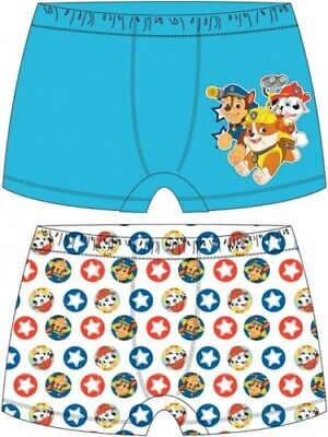 Boxer Shorts 2 Pack Set Ages 2-8 Avengers Boys Paw Patrol Toy Story