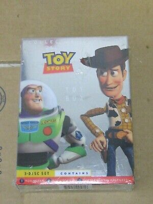 TOY STORY THE ULTIMATE TOY BOX 3 DVD COLLECTOR'S EDITION SET *Sealed* DISNEY