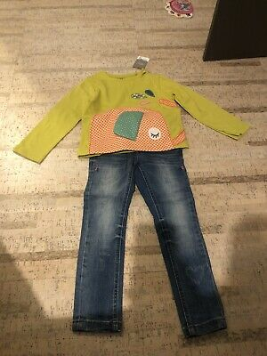 Girls Next Jeans And Top 3-4 Years