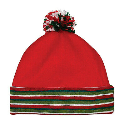 Dyno Christmas Hat Multicolored Fleece 1 Pk (Pack Of 6)