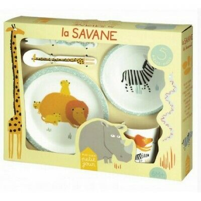 3-Piece Cutlery Set Elmer Perfectly Suitable for The Small Hands! Petit Jour Paris