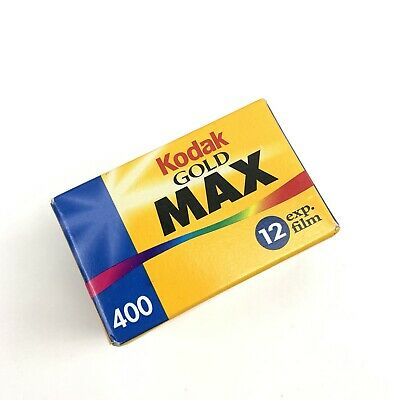 Kodak MAX 400 Speed 12 Exp Film 35mm Color C-41 Expired 2001
