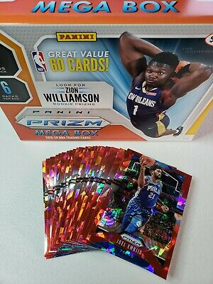 2019-20 Prizm Basketball RED ICE Parallels You Pick, Complete your set