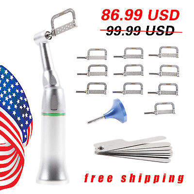 Dental Reduction 4:1 Interproximal Stripping Contra Angle Handpiece IPR SALE