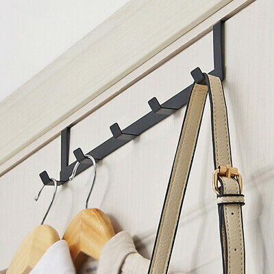 Over The Door Hook Hanger Heavy Duty Rack Organizer For Towel Coat Bag Home Tool