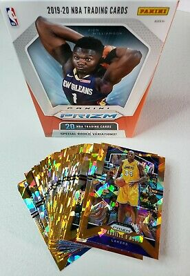 2019-20 Prizm Basketball ORANGE ICE Parallels You Pick, Complete your set