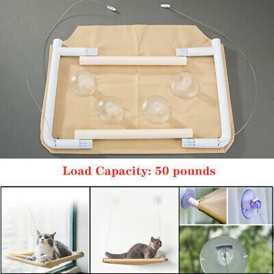 Cat Hammock Window Mounted Hanging Bed Pendant For Pet Soft Rest House Universal