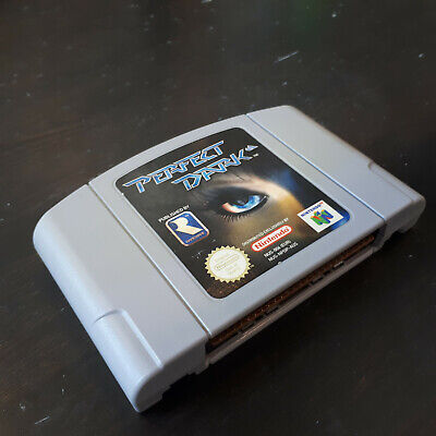 Perfect Dark Game - For N64 Nintendo 64 PAL - Rare *Absolute Classic* Game