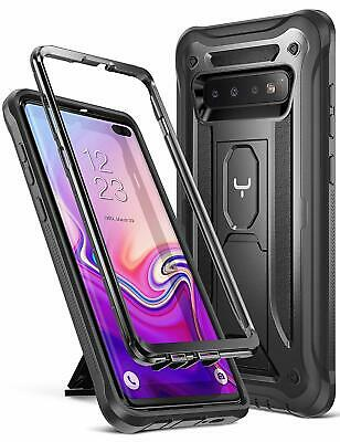 Samsung Galaxy S10 Plus 2019 Case Heavy Duty Protection Kickstand Shockproof