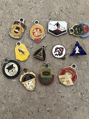 Leagues Club & Skiing Club Badges