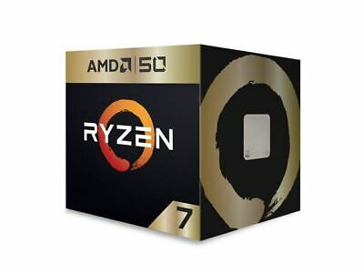 AMD Ryzen 7 2700X, 8 Cores, 16 threads, AM4 CPU, 4.35GHz, 20MB, 105W, Wraith ...
