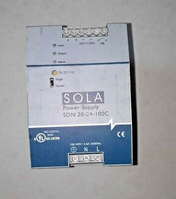 SOLA power supply SDN 20-24-100C SOLA SDN20-24-100C Free shipping