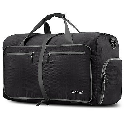 Gonex New 80L Foldable Travel  Luggage Duffel Bag Water & Tear Resistant Durable