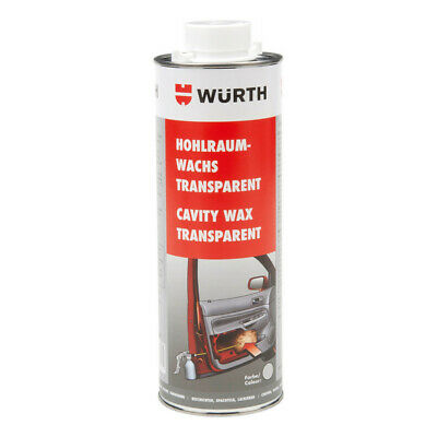 **1x1000ml WÜRTH CAVITY WAX OIl RUST PROOFING CORROSION PREVENTION***