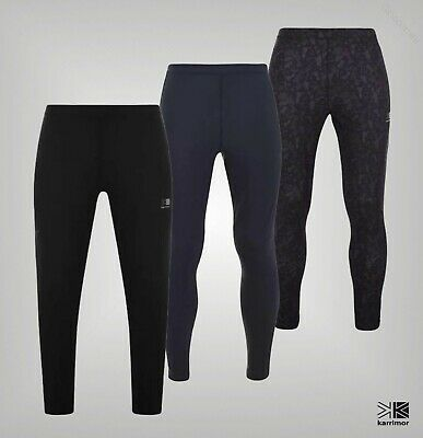 Mens Karrimor Stretch Printed XLite MX Therm Running Tights Sizes from S to XXL