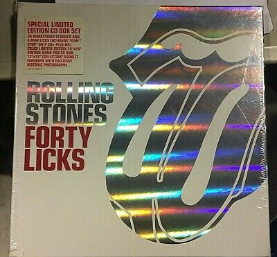 Rolling Stones - Forty Licks -  Special Edition Cd Boxset  Usa - Sealed Mint