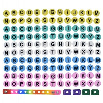 US Stock 130 pcs Alphabet Letters Shoe Charms For Wristbands Kindergarten Gifts