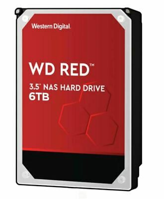 """WD Red 6TB NAS 3.5"""" 5400RPM SATA3 6Gb/s 64MB Cache WD60EFAX WD60EFAX"""