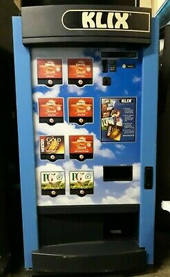 Klix 450 8 Selections In-Cup Coffee Vending Machine with 1x Key - Working