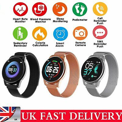 Fashion Sport Smart Watch Heart Rate Monitor Fitness Tracker For iOS Android UK