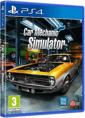 Car Mechanic Simulator | PlayStation 4 PS4 New