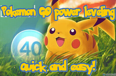 Pokemon GO easy 40lvl friends farming- free items, XP and more! Power leveling!