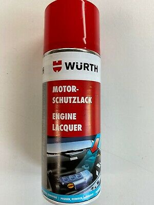***2 x 400ml WURTH ENGINE PROTECTIVE LAQUER***