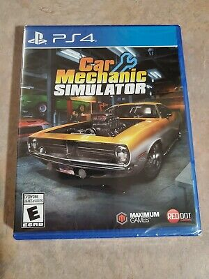 CAR MECHANIC SIMULATOR PLAYSTATION 4 PS4 New in Box Shrinkwrapped! Fast Ship!